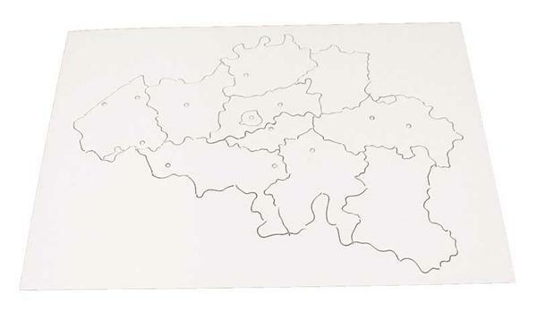 Puzzel karton België