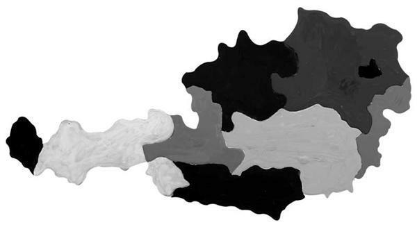 Puzzle Pappkarton - Bundesländer Österreichs