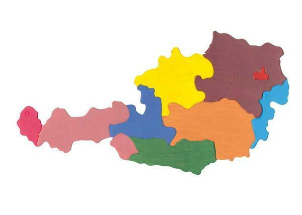Puzzel karton Oostenrijk