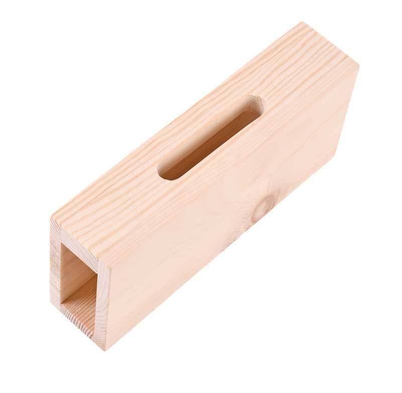 Amplificateur de téléphone portable en bois