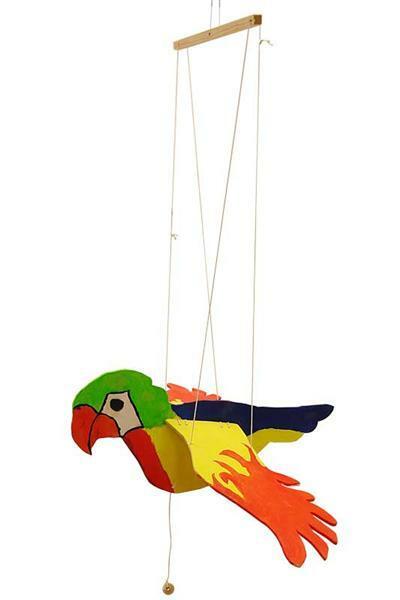 Schwebevogel Papagei