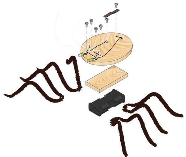 Spinne Luminarx - Marienkäfer Scaraba