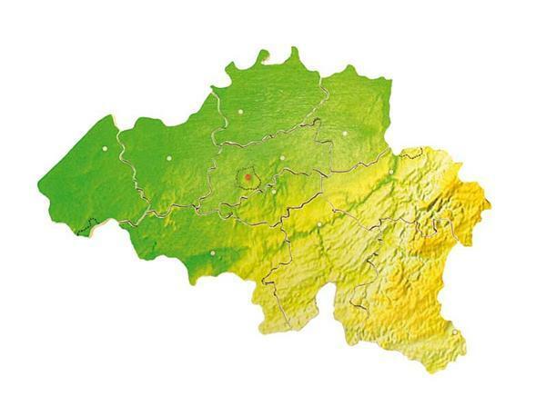 Puzzle Belgien Provinzen