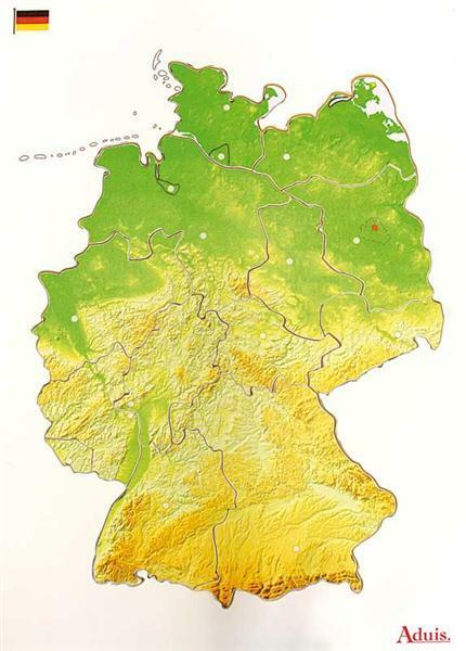 Puzzle Deutschland Bundesländer
