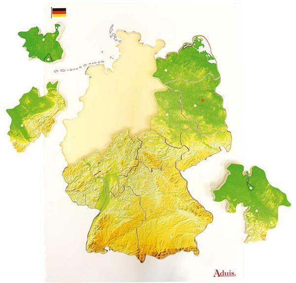Puzzel Duitsland deelstaten