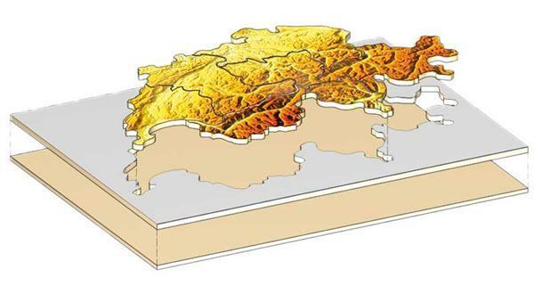 Puzzle Schweiz Kantone