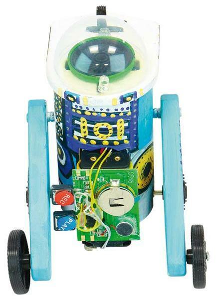 Pratende robot R4D4