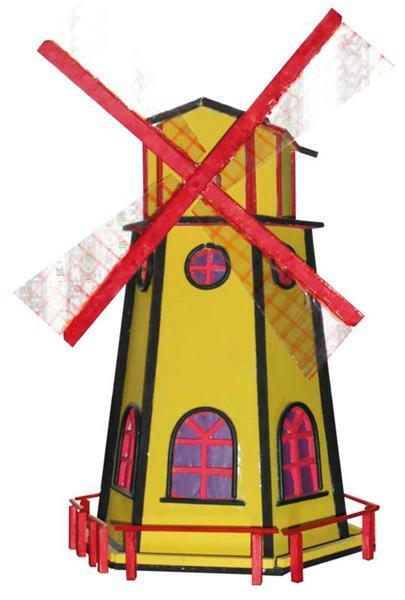 Moulin à vent solaire