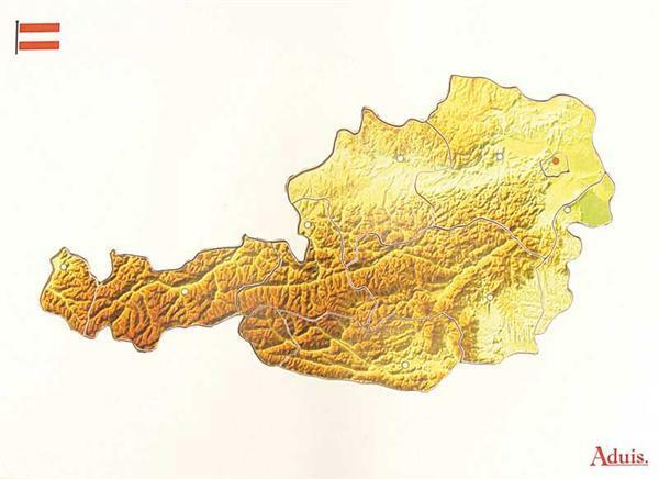 Puzzle en bois : l'Autriche