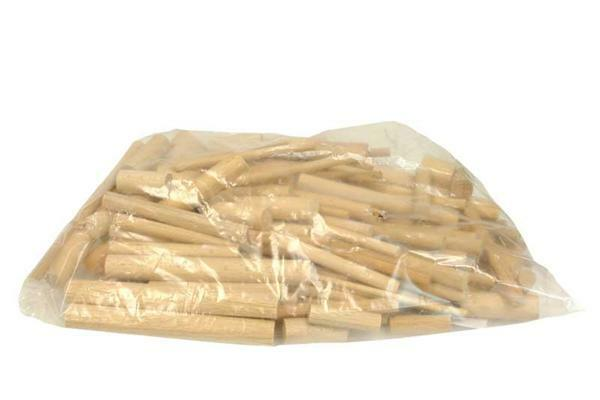 Mixverpakking rondhout - 0,5 kg