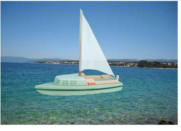 """Le voilier """"Capri"""""""