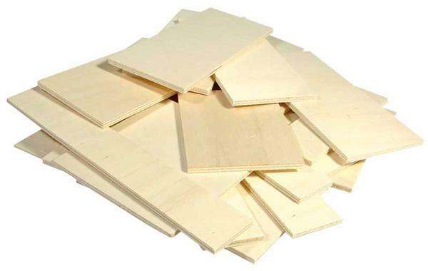 Mischpackung Pappelsperrholz - 1 kg