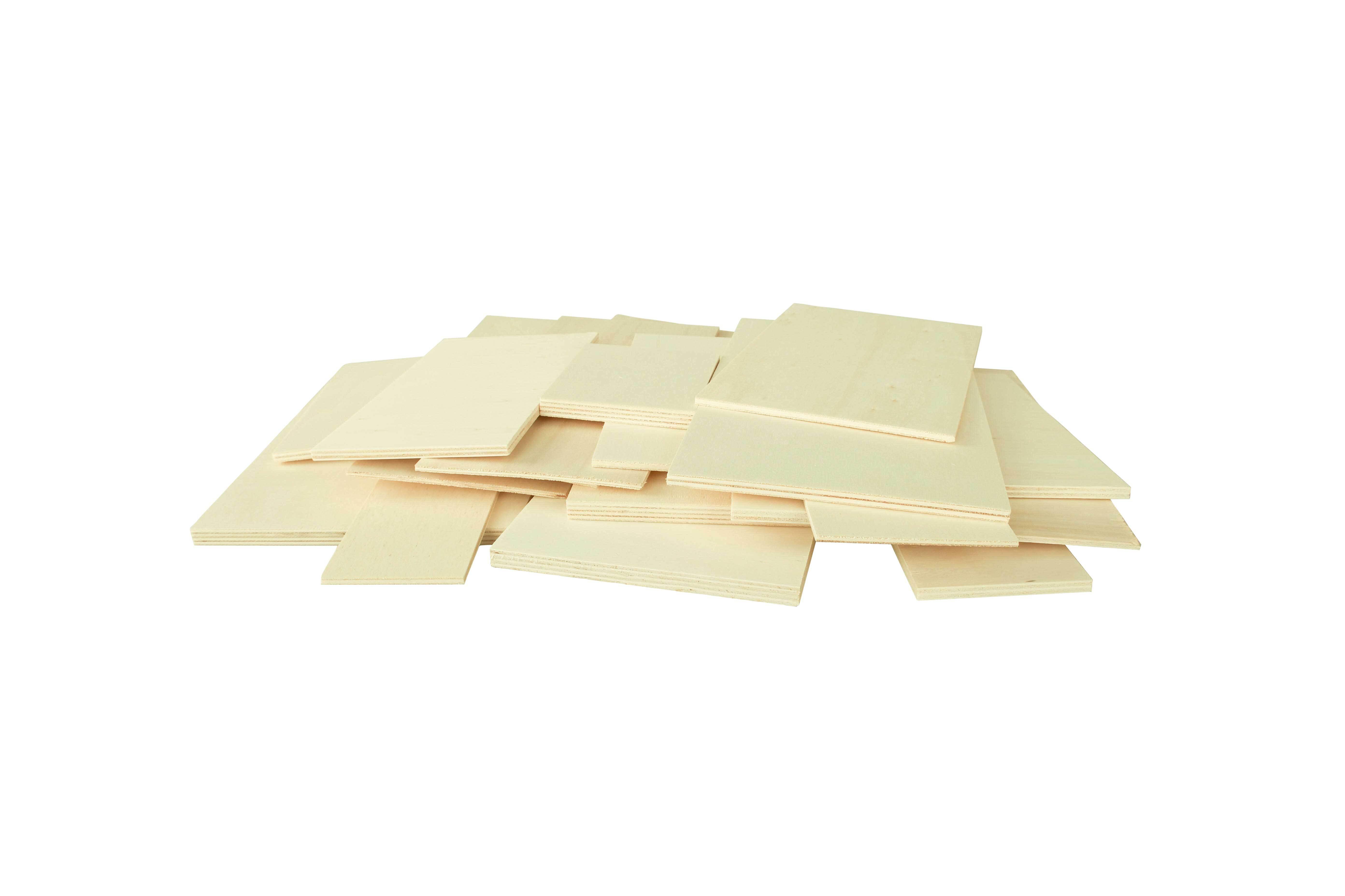 Pappelsperrholz, gemischt - 1 kg