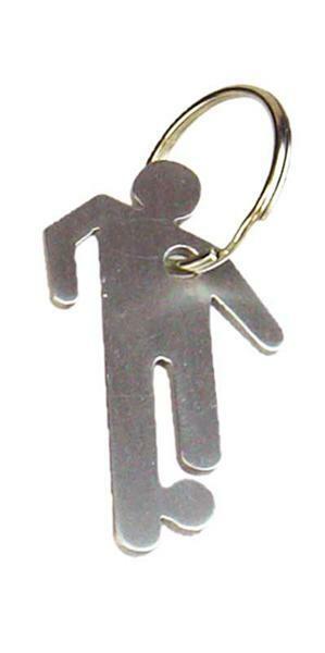 Schlüsselanhänger Hier-Bin-Ich