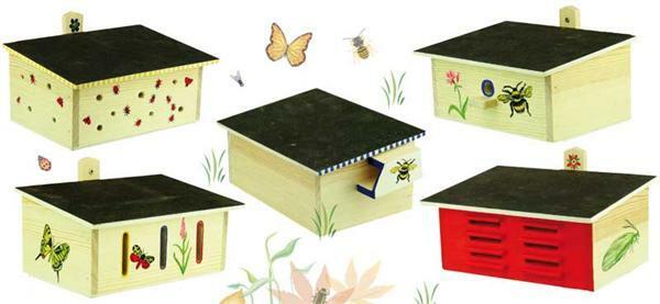 Häuschen für Insekten