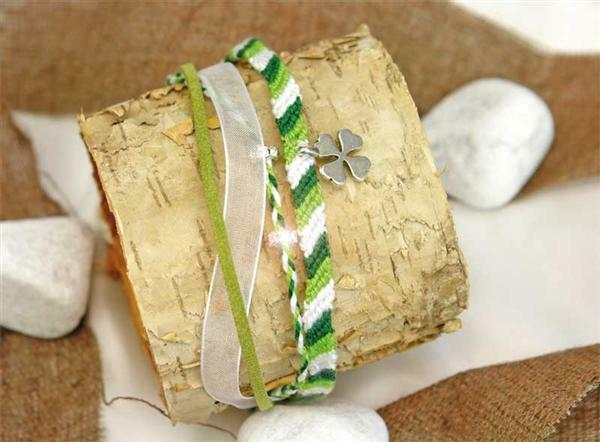 Armband-Set, grün
