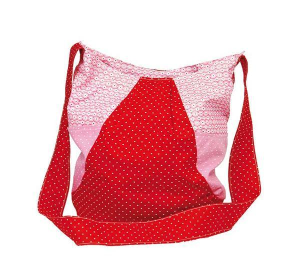 Naaiset - boodschappentas, rood