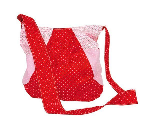 Nähset - Einkaufstasche, rot