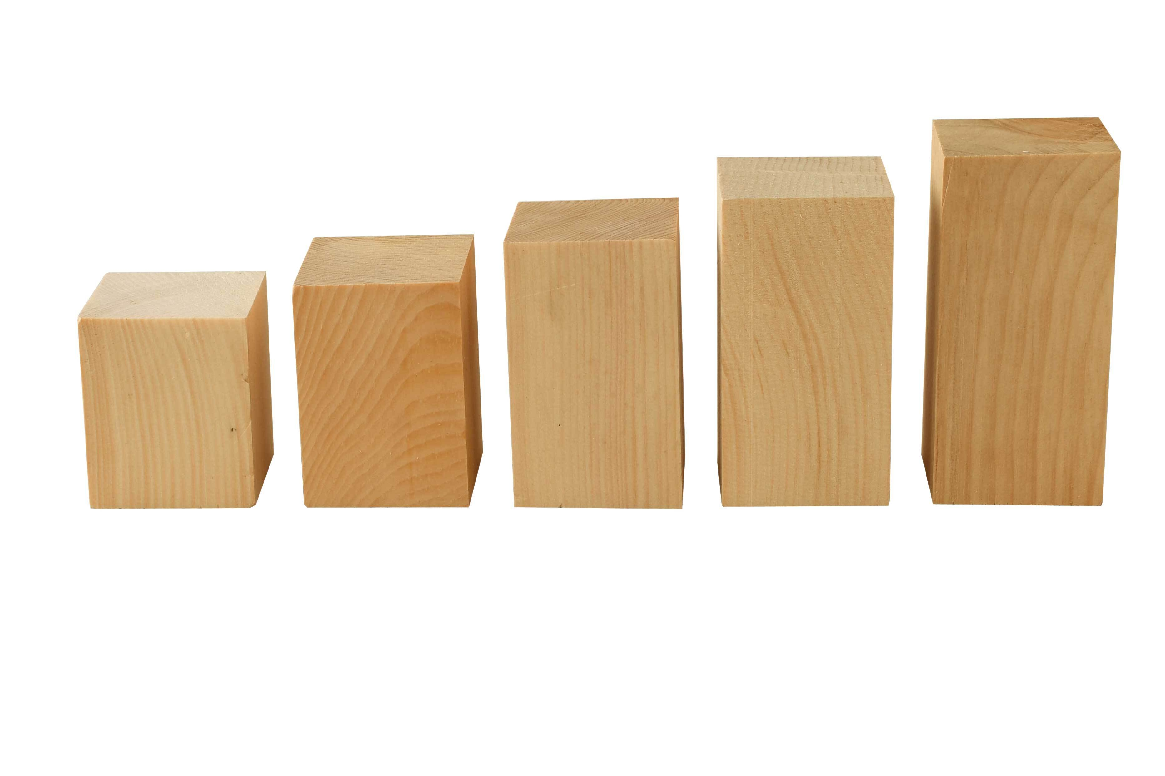 Blocs de construction en pin Cembro - 0,5 kg,4,2cm