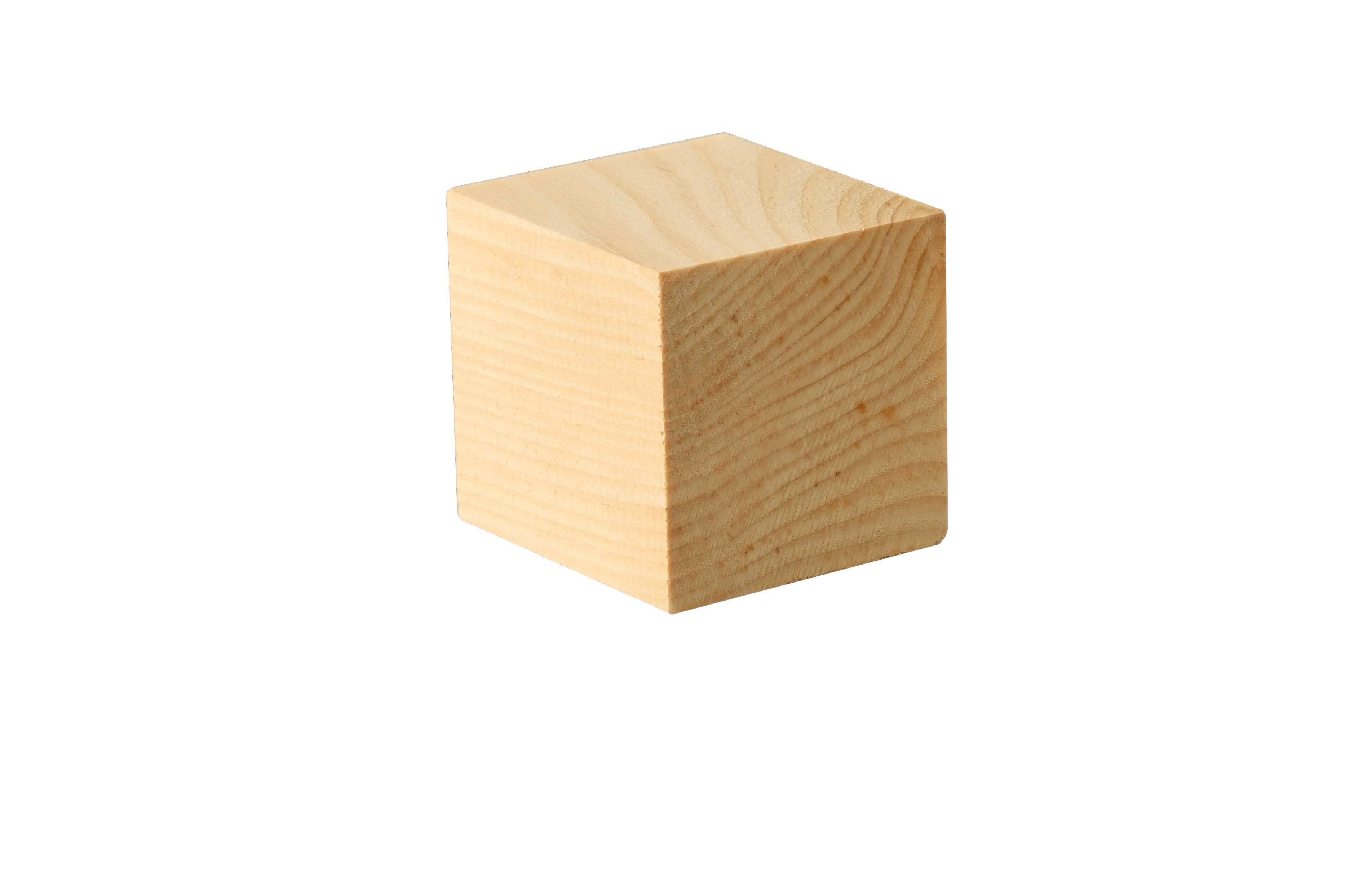 Houten blokjes groot - 50 st., 42 x 42 cm