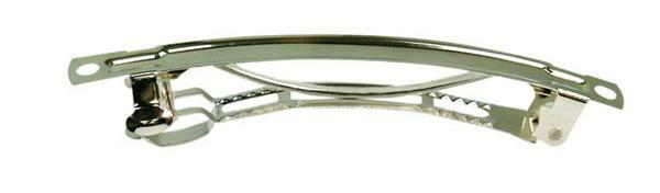 Haarclip - 10 st./pak, zilverkleurig