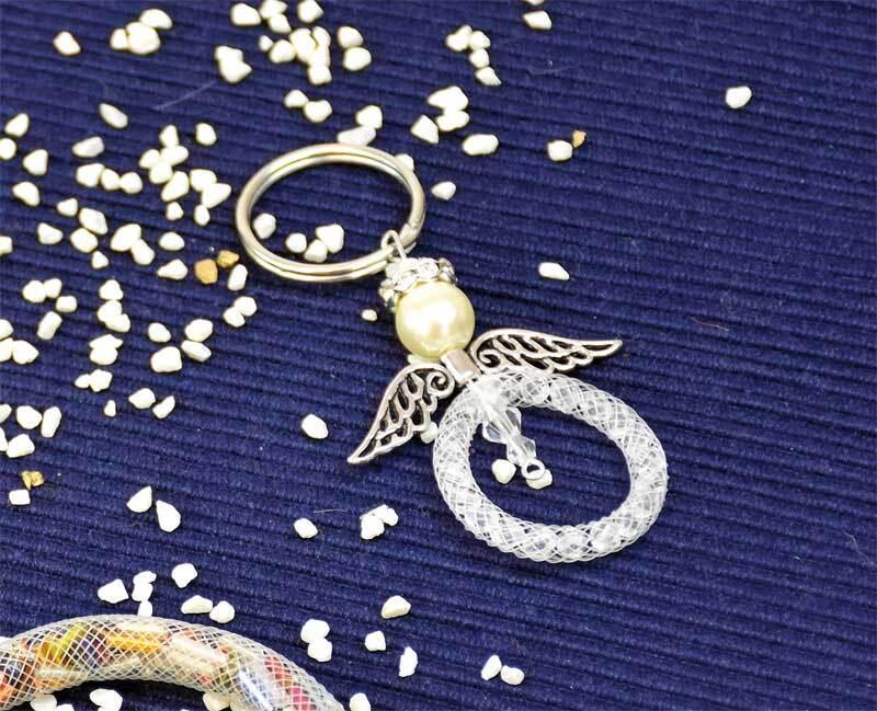 Schlüsselringe - 10er Pkg., Ø 25 mm, silberfarbig