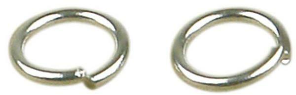 Tussenring - 20 st., Ø 7 mm, zilverkleurig