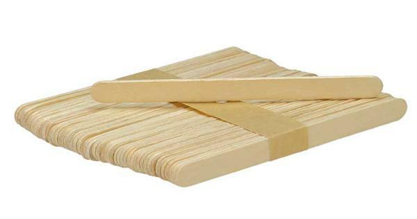 Holzspatel / Eisstiele - 18 x 150 mm, 80 Stk.