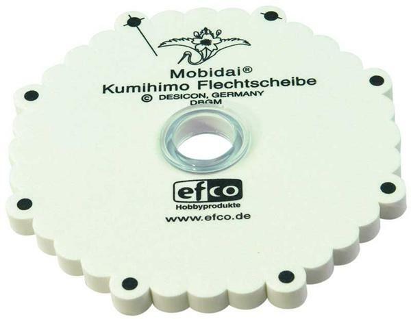 Kumihimo Mobidai-Flechtscheibe, rund
