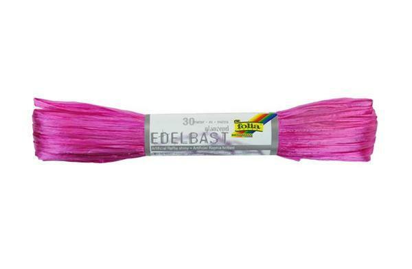 Raphia brillant - 30 m, pink