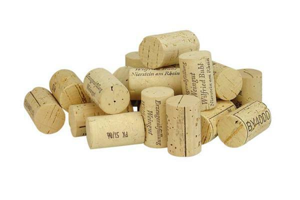 Kurken - wijnkurken, 44 x Ø24/ Ø24, 100 st., 400 g