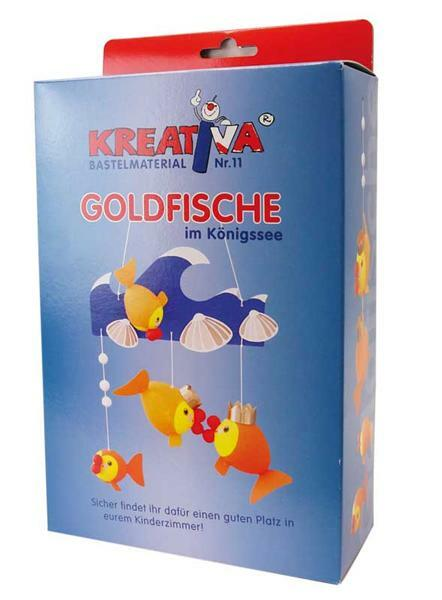 Wattekugel Set, Goldfische