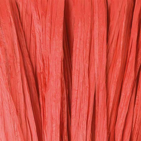 Raphia mat - 10 g, rouge