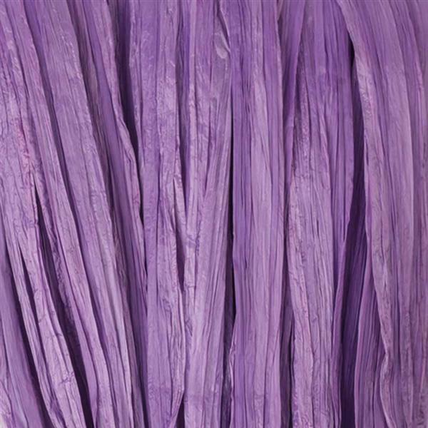 Raffia mat - 10 m, lila