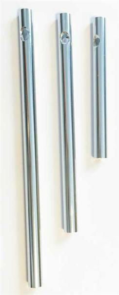 Klangstäbe - 3er Pkg., silber Ø 6 mm, 6, 9, 11 cm