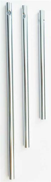 Klangstäbe - 3er Pkg., silber Ø 6 mm, 11, 14, 17