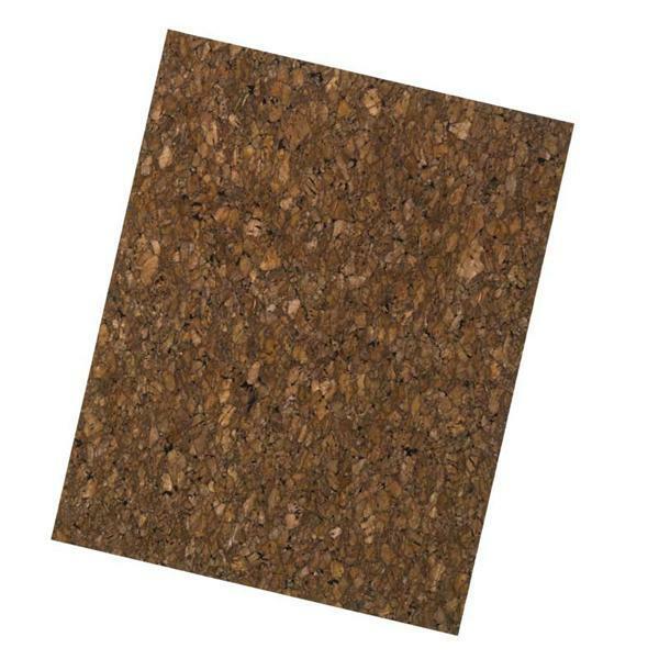 Kurkpapier - 25 x 20 cm, marron
