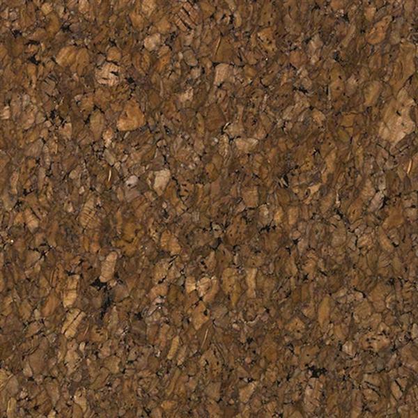 Tissu de liège - 0,8 mm, 45 x 35 cm, marron