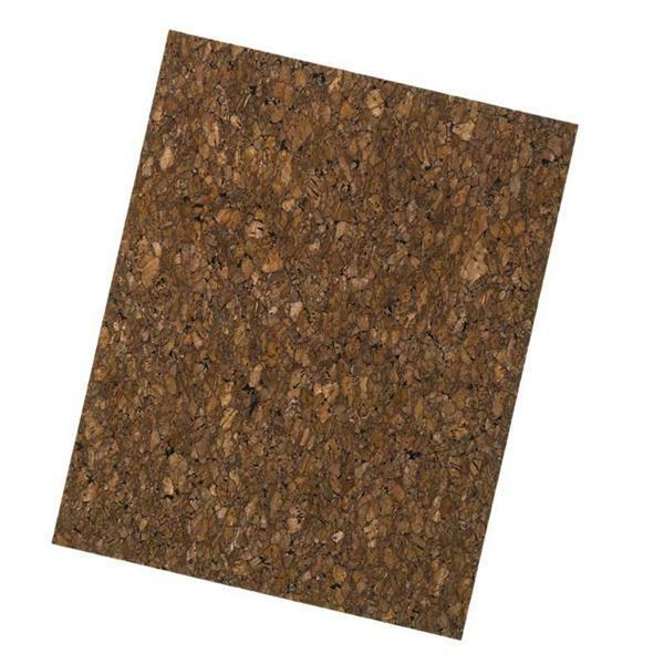 Cuir de liège - 0,65 mm, 45 x 35 cm, marron