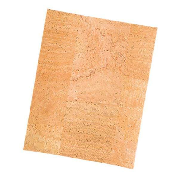 Cuir de liège - 0,65 mm, 45 x 35 cm, mosaïque