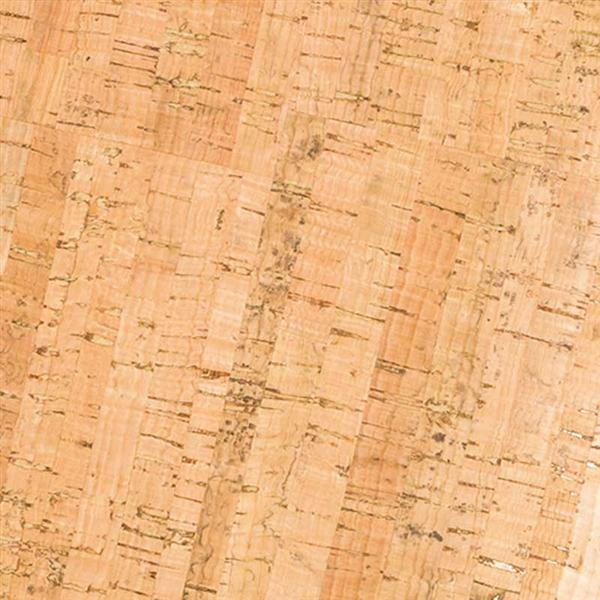Cuir de liège - 0,65 mm, 45 x 35 cm, stripes