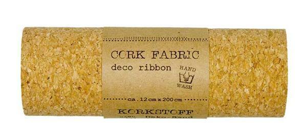 Decoratie kurk op rol - 12 cm breed, 2 m