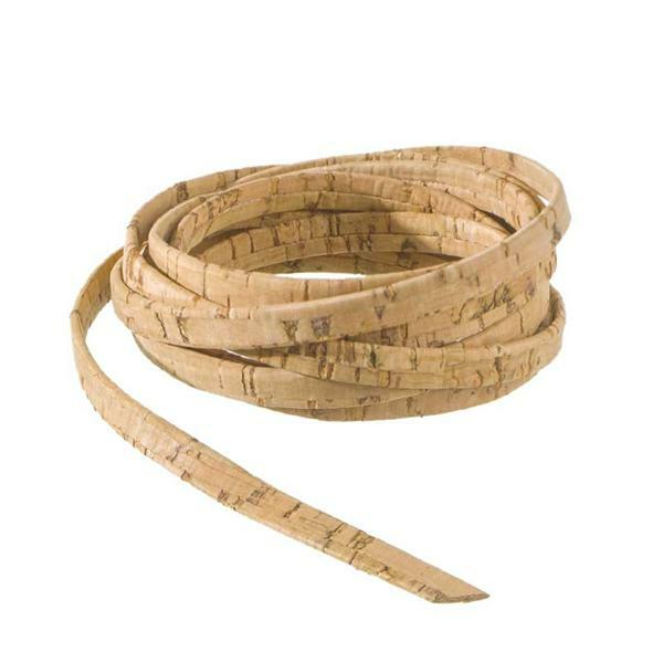 Ruban liège plat - 100 cm, 5 mm