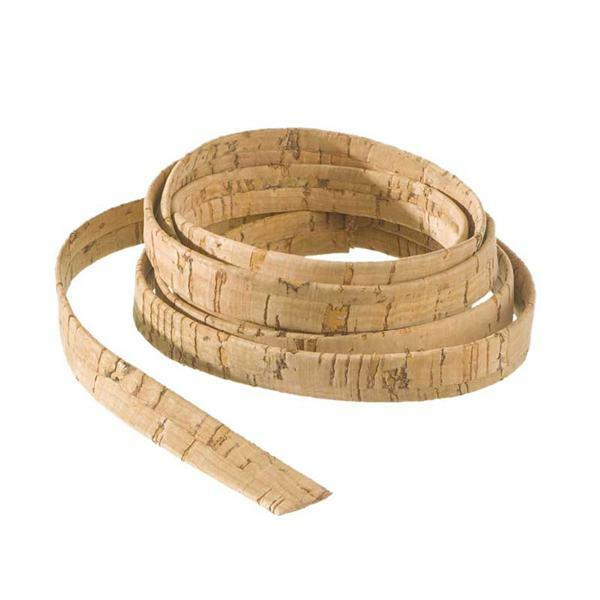 Ruban liège plat - 100 cm, 10 mm