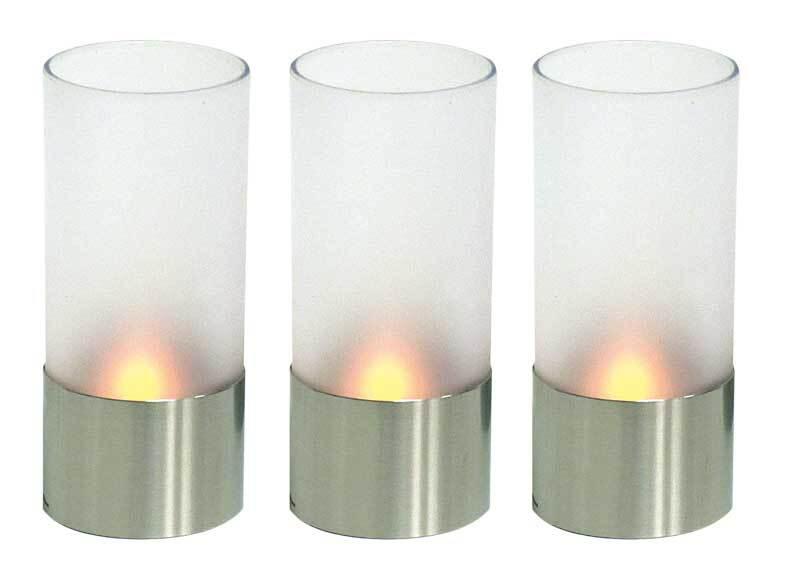 LED theelichtjes, 3 stuks