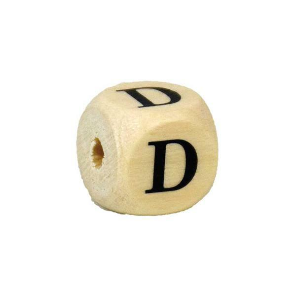 Buchstabenperle D