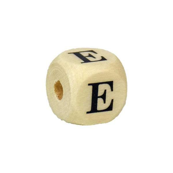 Perle lettre E