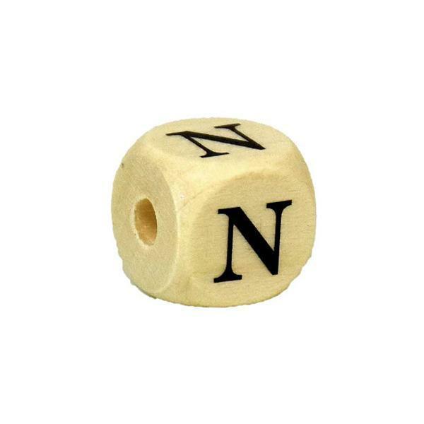 Buchstabenperle N