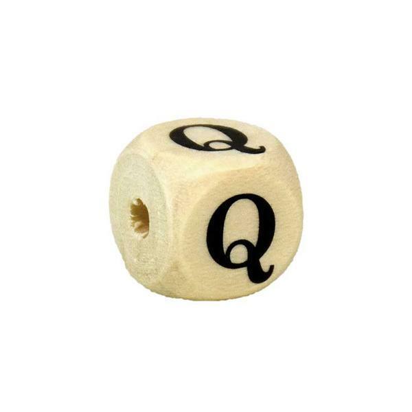 Buchstabenperle Q