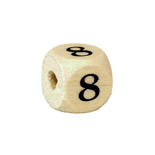 Perle chiffre 8